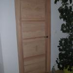 Porte intérieure bois