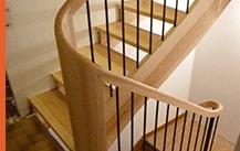 Escalier de Atelier de Menuiserie BG
